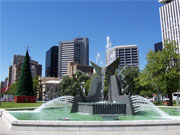 Adelaide from Victoria Square