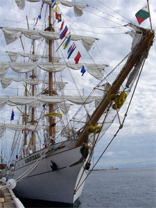 The Mexican barque Cuauhtémoc