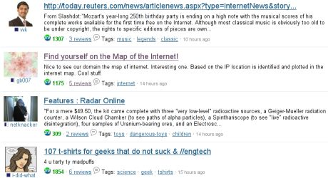 Map-o-Net.com on StumbleUpon Buzz