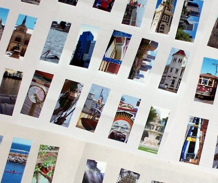 [Some of my Flickr MOO cards!]