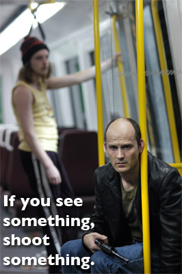 Last Train To Freo: if you see something, shoot something!