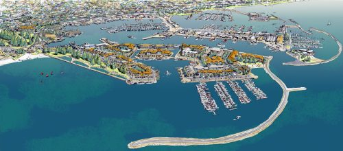 Proposed development for the Fishing Boat Harbour in Fremantle; Creative Commons licence does not apply to this image