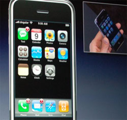 Apple's new iPhone; Creative Commons licence doesn't apply to this image